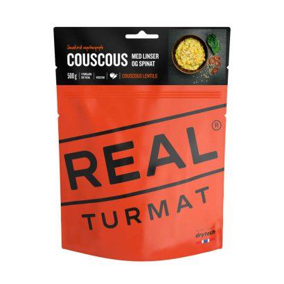Real Turmat Couscous met linzen en spinazie