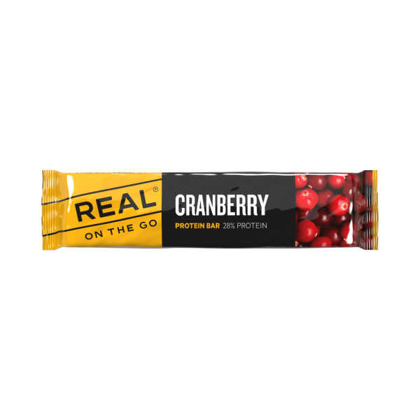 Cranberry Protein Bar - Real Turmat