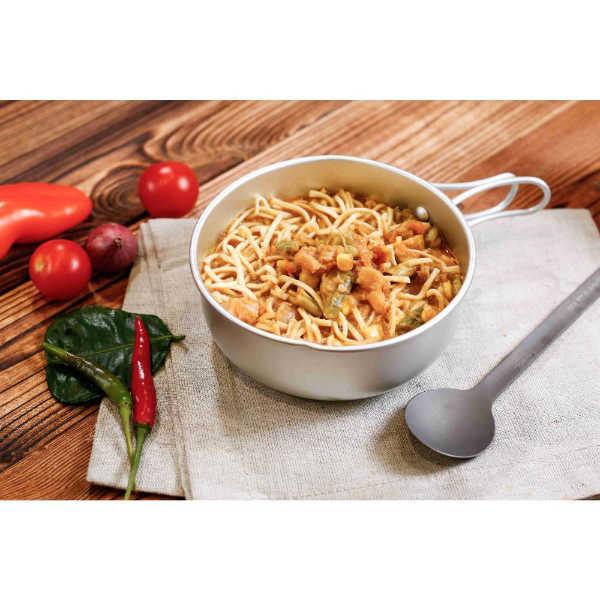 Expedition Foods Aziatische noedels met kip en gemengde groenten