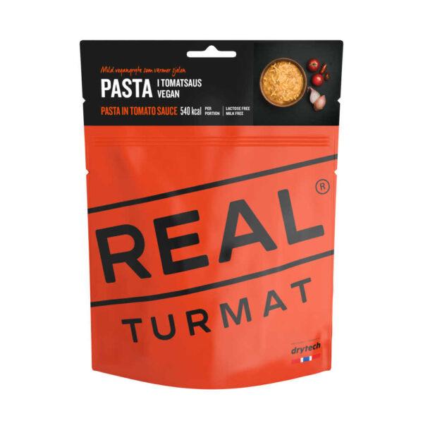 Real Turmat Pasta met tomatensaus