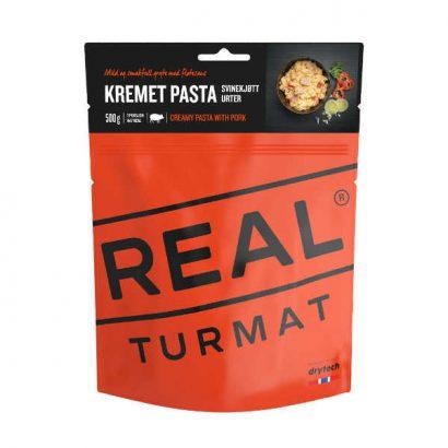 Real Turmat Romige pasta met varkensvlees en kruiden