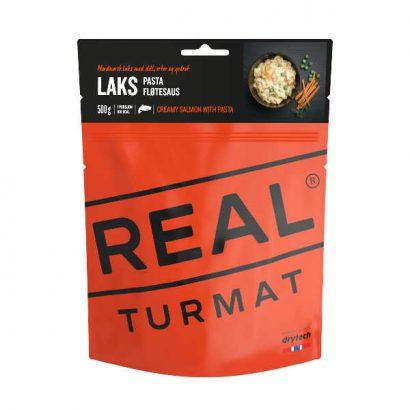 Real Turmat Zalm met pasta en roomsaus