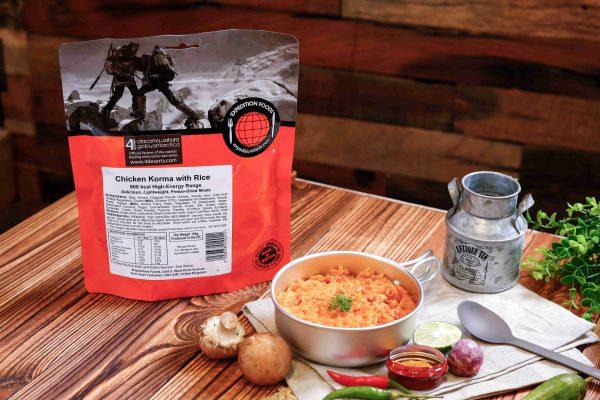Expedition Foods Kip Korma met rijst