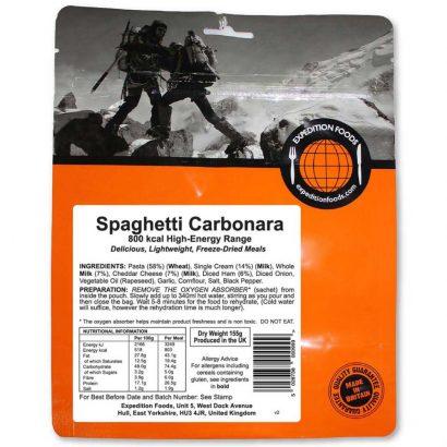 Expedition Foods Spaghetti Carbonara