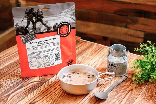 Expedition Foods Vla met gemengde bessen