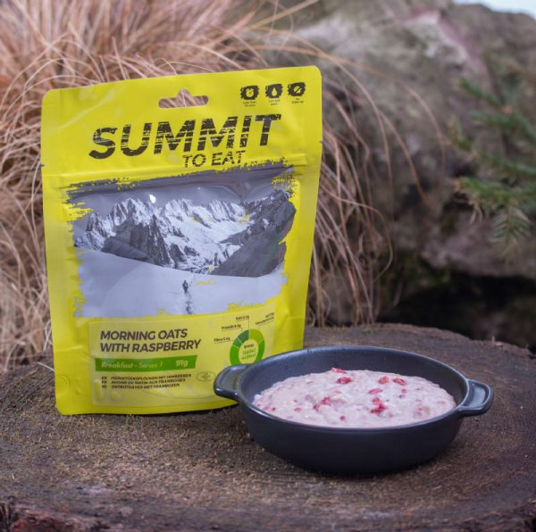 Summit to Eat Ochtendhaver met Framboos