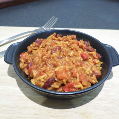 Summit to Eat Plantaardige Chipotle Chilli Met Rijst