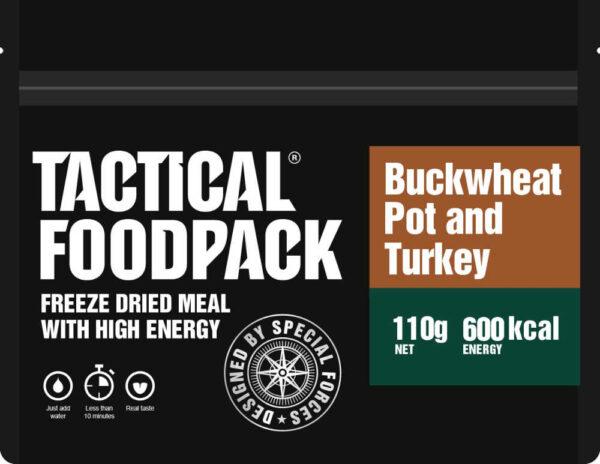 Tactical Foodpack Boekweitpot met kalkoen