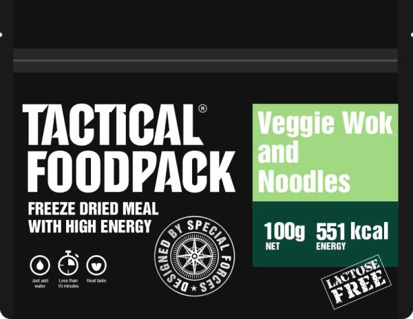 Tactical Foodpack Vegetarische wok met noedels