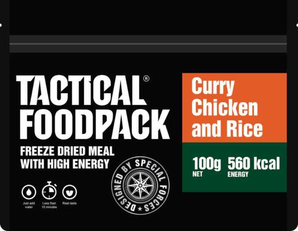 Tactical Foodpack Kip curry met rijst