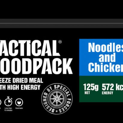 Tactical Foodpack Kip met noedels