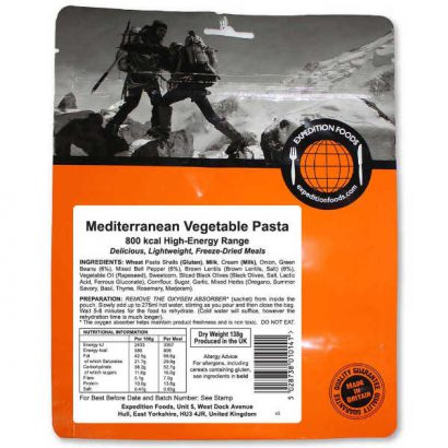 Mediterrane Pasta - Expedition Foods