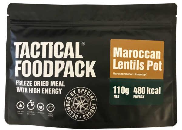 Tactical Foodpack Marokkaanse Linzen Pot