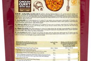 Blå Band Kip Curry met Rijst