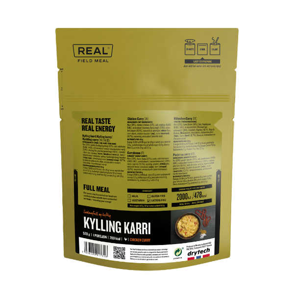 Kip Kerrie - 702 kcal - Real Field Meal