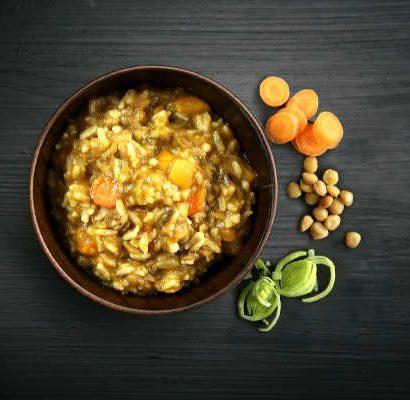 Lamsvlees met rijst en linzen - Real Field Meal