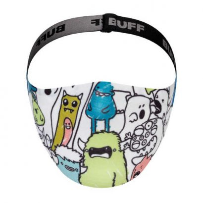 BUFF® Child Face Mask Boo Multi - Mondmasker