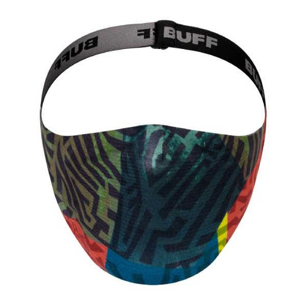 BUFF® Child Face Mask Stony Green - Mondmasker