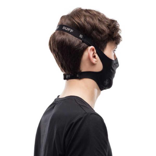 BUFF® Face Mask Solid Black - Mondmasker