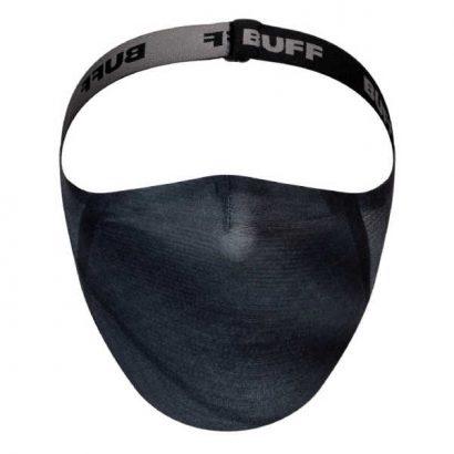 BUFF® FACE MASK VIVID GREY - MONDMASKER