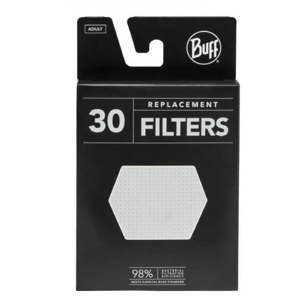 BUFF® Filter Refill FM70/310 30 pack for Adult Face Mask - Filter