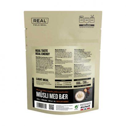 Muesli met bessen - 704 kcal - Real Field Meal