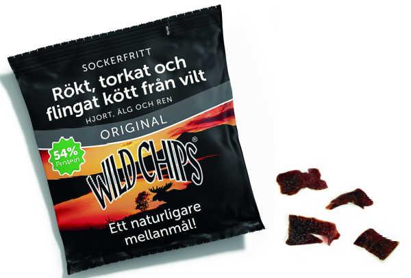 Wild Chips 40gr. - Wild Man