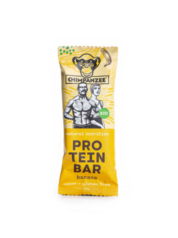 Banana - Organic Protein Bar - Chimpanzee